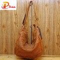 Irregular Patchwork Design Women Handbags Soft Genuine Leather Bags National Wind Sheepskin Bag For Ladies