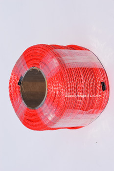 High Quality  Red 6mm*100m 12 Strand Synthetic Rope,ATV Winch Cable,12 Plait Plasma Rope,Towing Rope,Boat Winch Rope