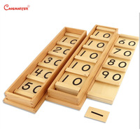 Монтессори Seguin доска с витаминами A и B развивающие игрушки математические с деревянной коробкой головоломки для изучения математики игруш