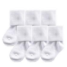 Cotton Winter Simple Kids' Socks 6 Pairs Set