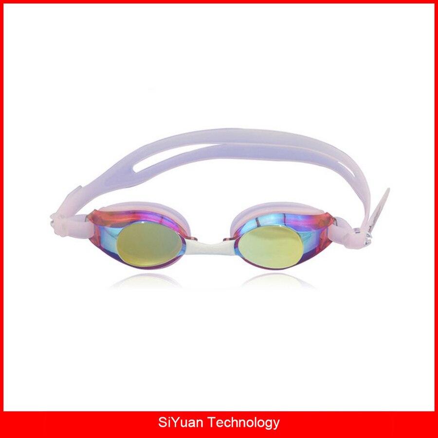 ⊱Espelhado óculos de Natação Óculos de Proteção Anti-Fog Lente - a99 8456fb0e86