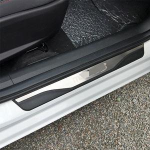 Image 5 - Voor Mazda 3 AXELA 2014 2015 2016 2017 2018 Auto Instaplijsten Scuff Plaat Guard Welkom Pedaal Cover Stickers Auto styling Accessoires