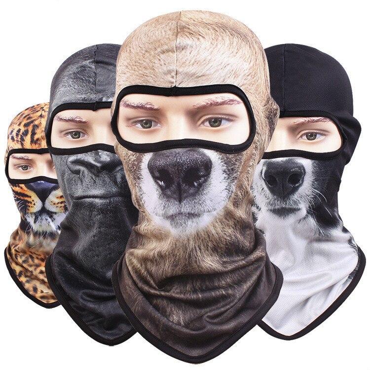 Erfinderisch 3d Tier Balaclava Full Face Maske Fahrrad Hüte Snowboard Gesicht Balaclava Mützen Winter Gesicht Maske Katze Hund Für Männer Frauen