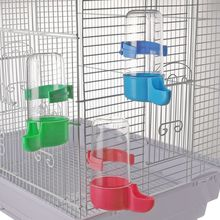 200ml Automatic Birds Drinker Feeder Poultry Waterer Drinking Feeding Containers Fodder Storage Water Cup Box For Pets