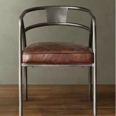 Pays Damrique En Fer Forg Chaise Longue Canap Cuir Vintage