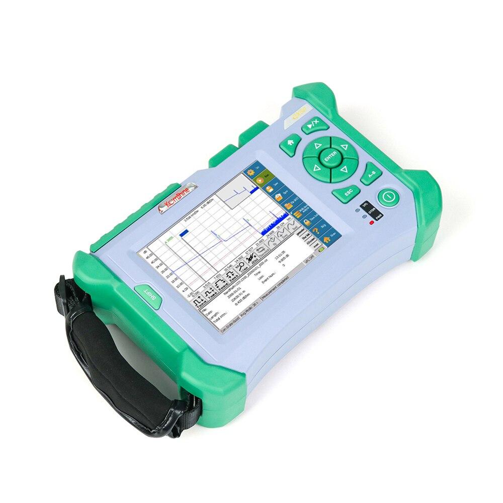 KOMSHINE QX50 S1310/1550nm 32/30dB прибор для визуального определения повреждения расположение Функция оптоволокно, рефлектометр коммуникативные волокн