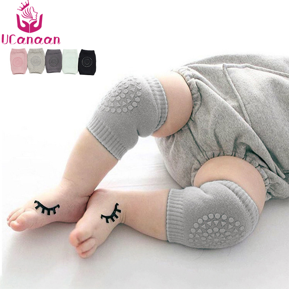 2017 Baby Leg Warmers Cotton Baby Knee Pads Kids Anti Slip Crawl Necessary Knee Protector Babies Leggings Children Leg Warmers