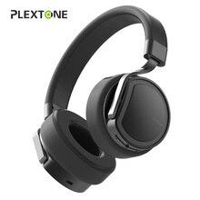 PLEXTONE Active Noise Cancelling Sem Fio Bluetooth Fones De Ouvido Fone de Ouvido com microfone Portátil para celulares e música