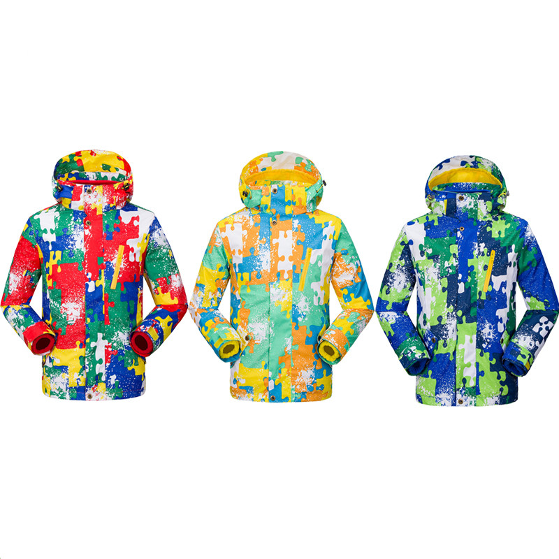 Jacket Coat Windbreake Snowboard Fleece Girls Waterproof Hiking Outdoor Winter Children