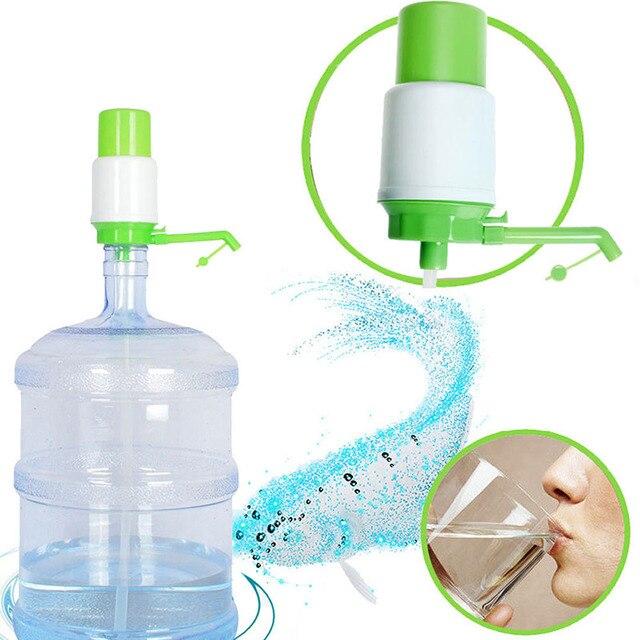 5 Gallon Bottled Water Ideal Hand Press Manual Pump Dispenser Faucet ...