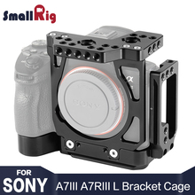 цена SmallRig A7M3 Half Cage w/ Arca Style Plate L-Bracket for Sony A7III / For Sony A7RIII / a7 iii /  a7r3 /  A7R III L Plate 2236 онлайн в 2017 году
