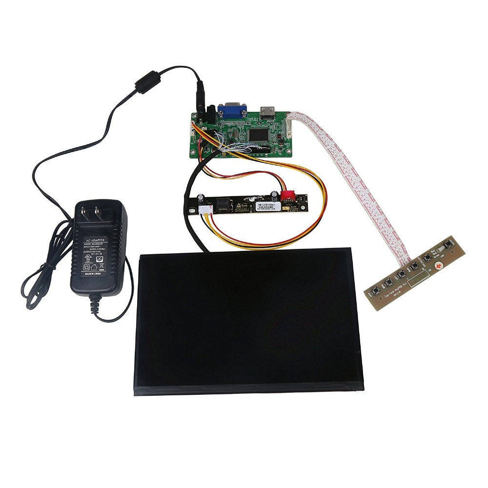 8.9″Inch High Resolution 1920×1200 IPS LCD Display Screen Panel With HDMI &VGA Driver Board Controller Set Kit For Raspberry Pi