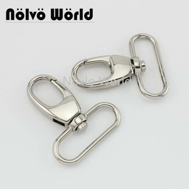 "4 pieces test, 54*38.5mm 1-1/2"" small quantity  metal strap buckle for bags, dog collar lobster clasp snap hook accessories()"