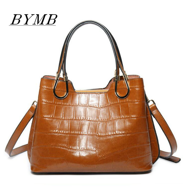 2017 Euramerican Women Crocodile Bag 100% Genuine Leather Women Handbag Hot Selling Tote Women Bag Large Brand Bags Luxury 2017 women tote bag 100