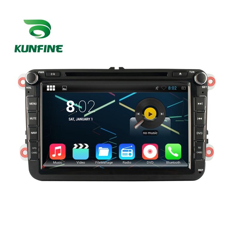 Octa Core 1024*600 Android 6.0 voiture DVD GPS Navigation lecteur multimédia stéréo de voiture pour VW GOLF (MK6) 2009-2011 Radio 3G Bluetooth