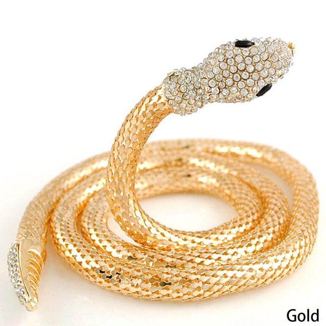 Collier silber schlange