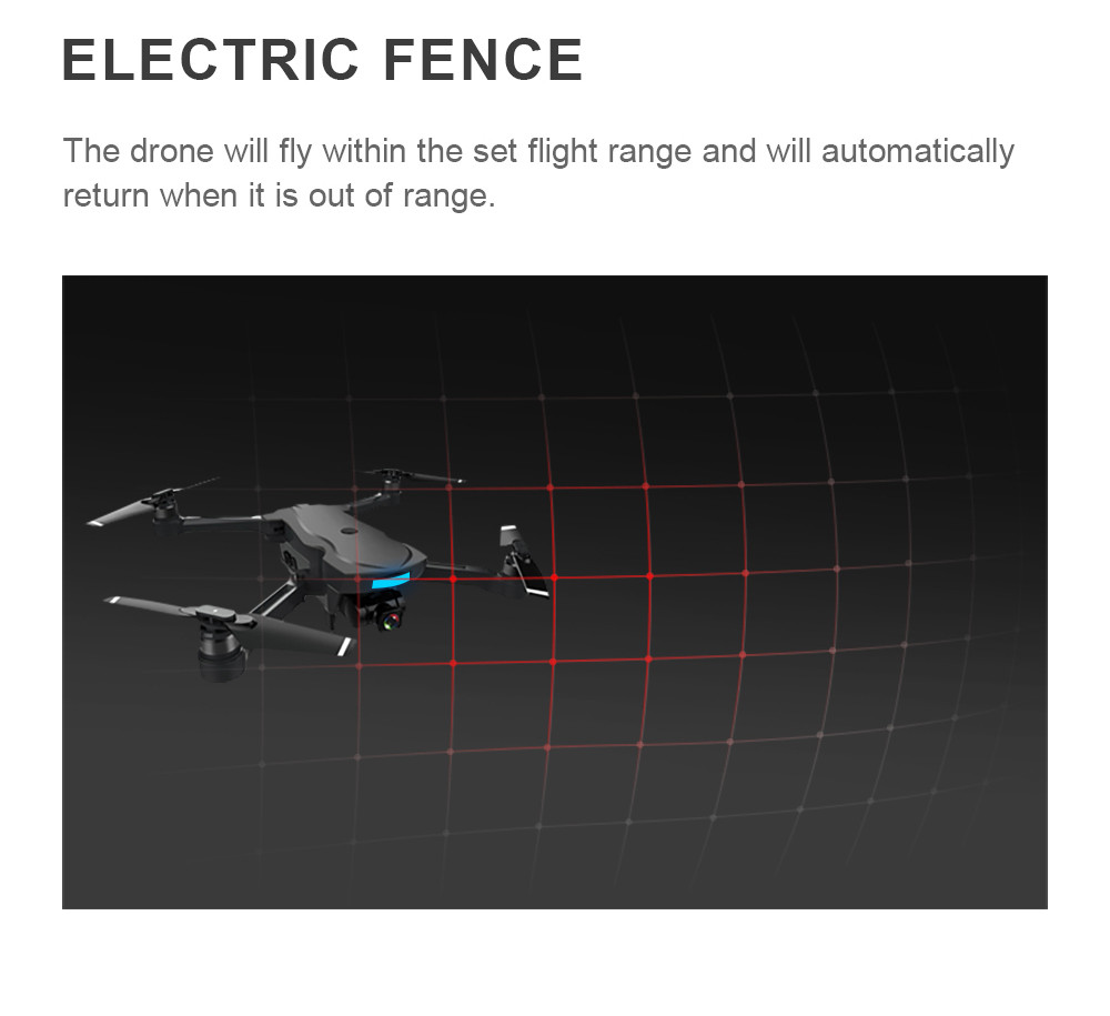 18 GPS tracking surround folding Drone 1000M Mins Brushless gesture aerial shot 1080P HD Camera WiFi FPV RC Quadcopter 22