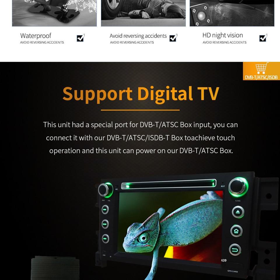 "Cheap 7"" Octa Core 4G WIFI Android 8.1 4GB RAM 64GB ROM RDS Car DVD Multimedia Player Stereo Radio For BMW E90 E91 E92 E93 2005-2012 25"