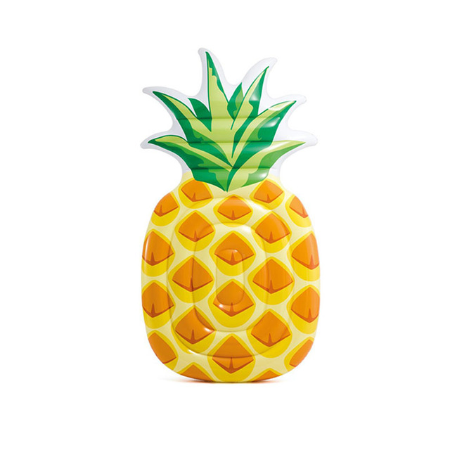 Summer Inflatable pineapple Swim Pool Floats  holiday party beach Mattress  games toys adults floating mat Swimming Water Sports