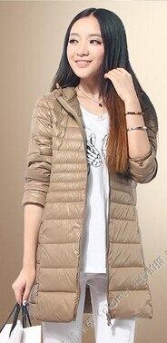 e6005d44a US $68.99 |good quality winter jacket women Parka size 6xl women's  lightweight jackets ladies hooded ultra light white duck down jacket-in  Down Coats ...