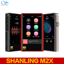 SHANLING M2X AK4490EN DSD256 HzWiFi مرحبا الدقة MP3 لاعب بلوتوث ضياع ايفي الموسيقى لاعب DAC Flac WAV لاعب