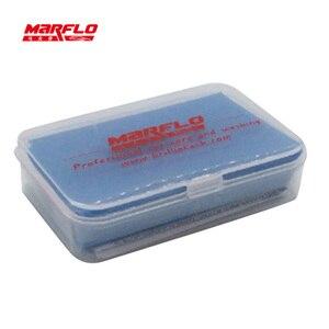 Image 2 - Marflo洗車ディテールマジック粘土バー 100 グラムファインミディアム · キンググレードヘビー 80 グラム新piont粘土バー強力な除去汚染物質