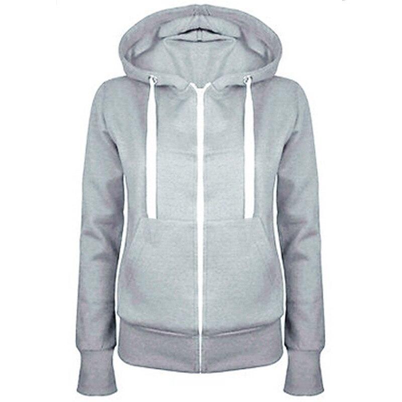 kawaii harajuku Women Hoodies Zipper Hooded Sweatshirts long sleeve Hoodies Pocket Jacket Moletom Sweatshirts totoro hoodie