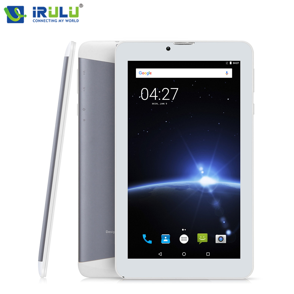 iRULU X6 7 Android 7.0 Tablet 3G Phablet Phone Call Quad Core 1.3GHz 1GB/16GB Bluetooth Wireless Dual Cams SIM Card Support GMS 10 inch android 7 0 tablet pc tab pad 2gb ram 32gb rom quad core play store bluetooth 3g phone call dual sim card 10 phablet