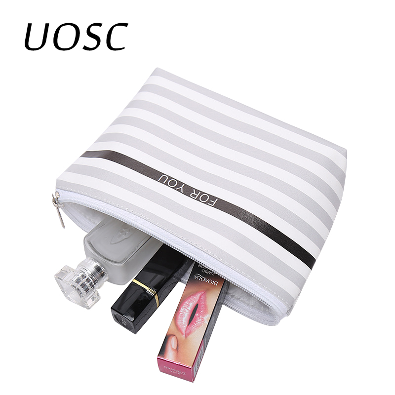 UOSC 2018 Cosmetic Bag Necessarie Travel Women Makeup Bag Make Up Beauty Case Female Toiletry Bags Wash Organizer Storage Pouch