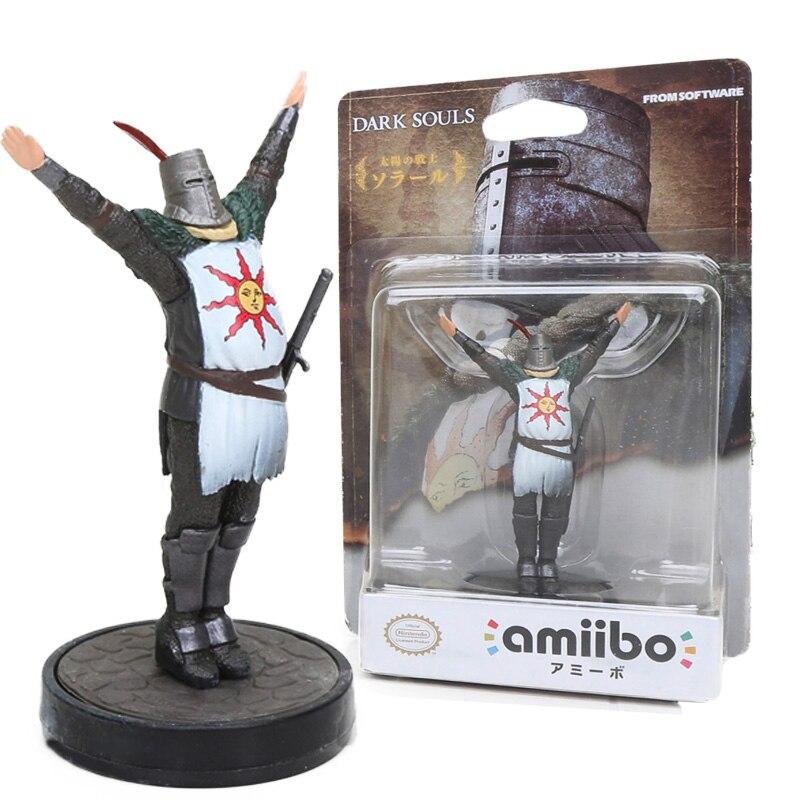 Nouveau jeu 9 cm âmes sombres jouets COLLECTION Statue Solaire d'astora salutations au soleil PVC figurine Action modèle poupée jouet