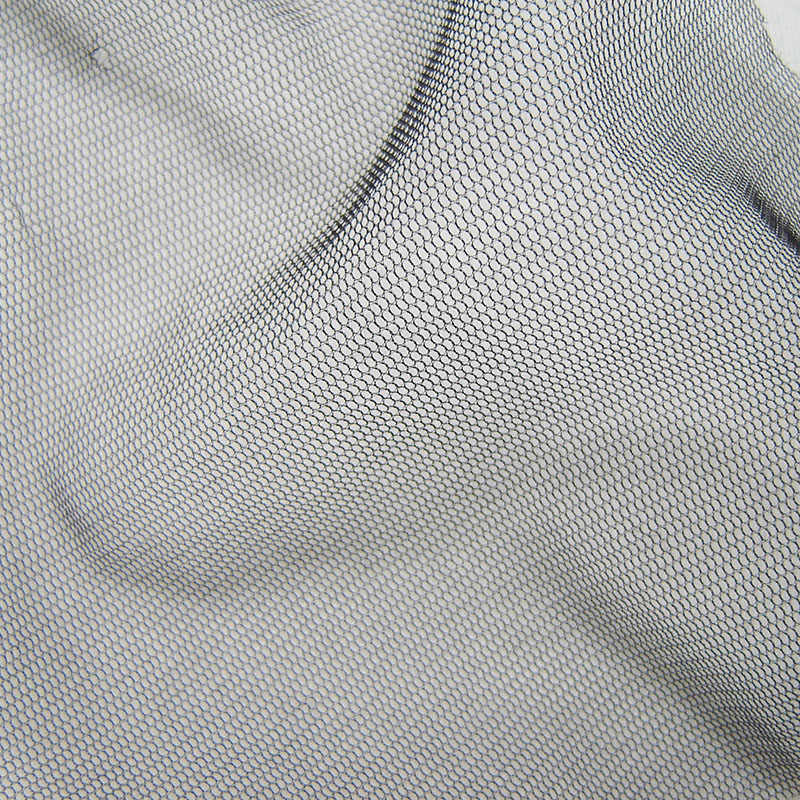 1 חצר שקוף בסדר שחור רשת בד המפלגה דקור Pettiskirt אבזר לבן נטו בד מסנן רב תכליתי בד tissu