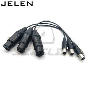 Image 5 - Ta3f 3pin female naar XLR 3pin vrouwelijke voor Geluid Apparaten 688/788, geluid Apparaten XL2 TA3 F naar XLR Kabel Adapter Kabel