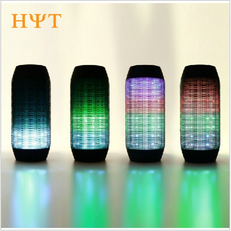 Electronic Audio Bluetooth Speaker LED lights Pulse Portable Wireless LED Support NFC Colorful 360 TF Card Outdoor for phone PC