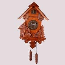 Die Kuckucksuhr Wohnzimmer Bro Wanduhr Holz Stunden