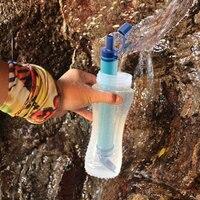 Supervivencia Outdoor Water Purifier Camping Hiking Sobrevivencia Emergency Life Survival Portable Purifier Water Filter Outdoor