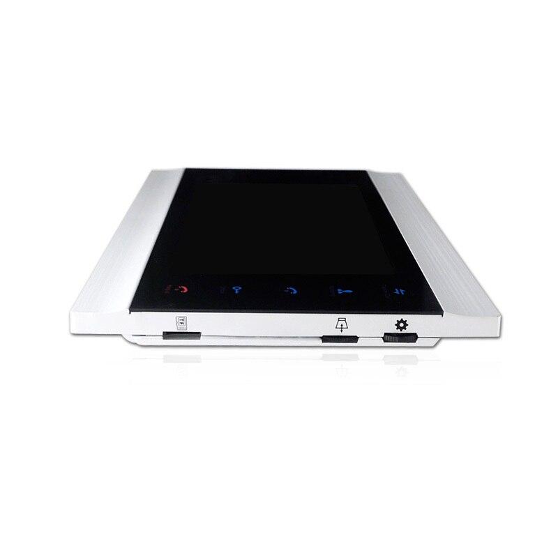 Homefong 7 pouces couleur LCD vidéo porte téléphone interphone système déverrouillage de la porte couleur sonnette caméra 600TVL Vision nocturne - 4