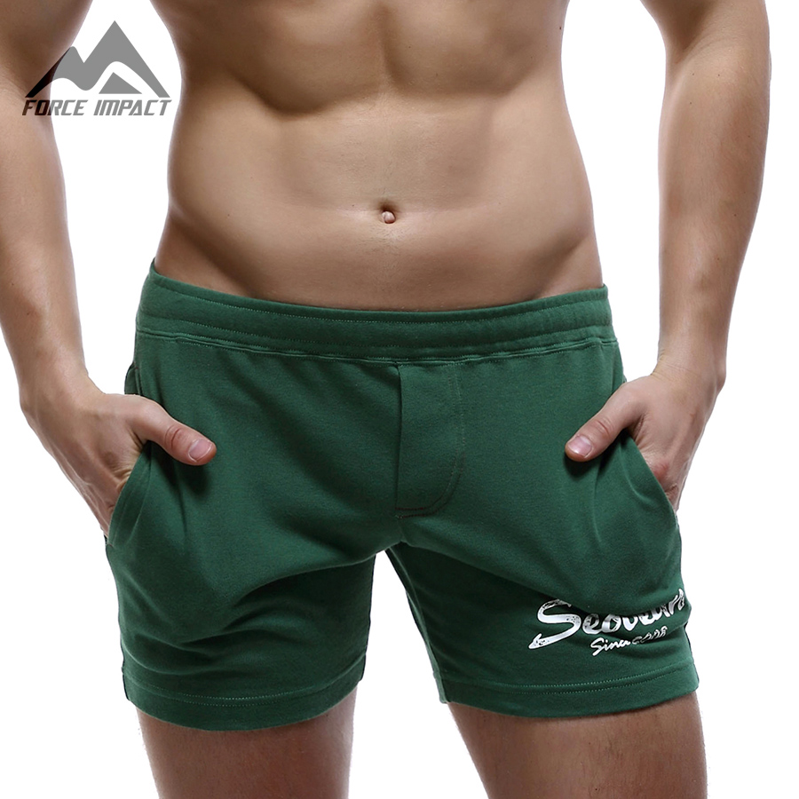 Underwear & Sleepwears Mens Rousers High Elastic Tight Transparent Lounge Shaper Sleep Bottoms Male Beach Half Length Pants Underwear Men 319