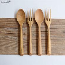 2 шт/компл деревянная портативная посуда деревянные столовые