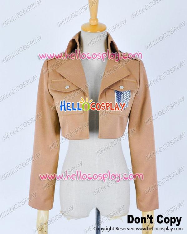 Attack On Titan Shingeki No Kyoujin Cosplay Scouting Legion Costume Coat Jacket Premade Standard H008