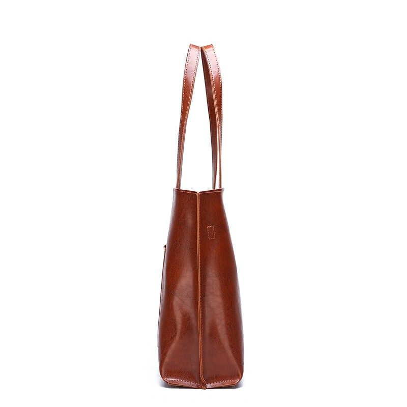 Женская сумка, Большая большая женская сумка и кошельки, модная женская сумка через плечо из искусственной кожи, Черная Женская сумка через плечо для девочек