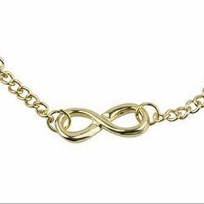 תכשיטי אופנה פשוט רטרו המשמח דיגיטלי אישיות 8 מילת צמיד חדש נשים של צמיד גברים של תכשיטי ילדה מתנה Bracele