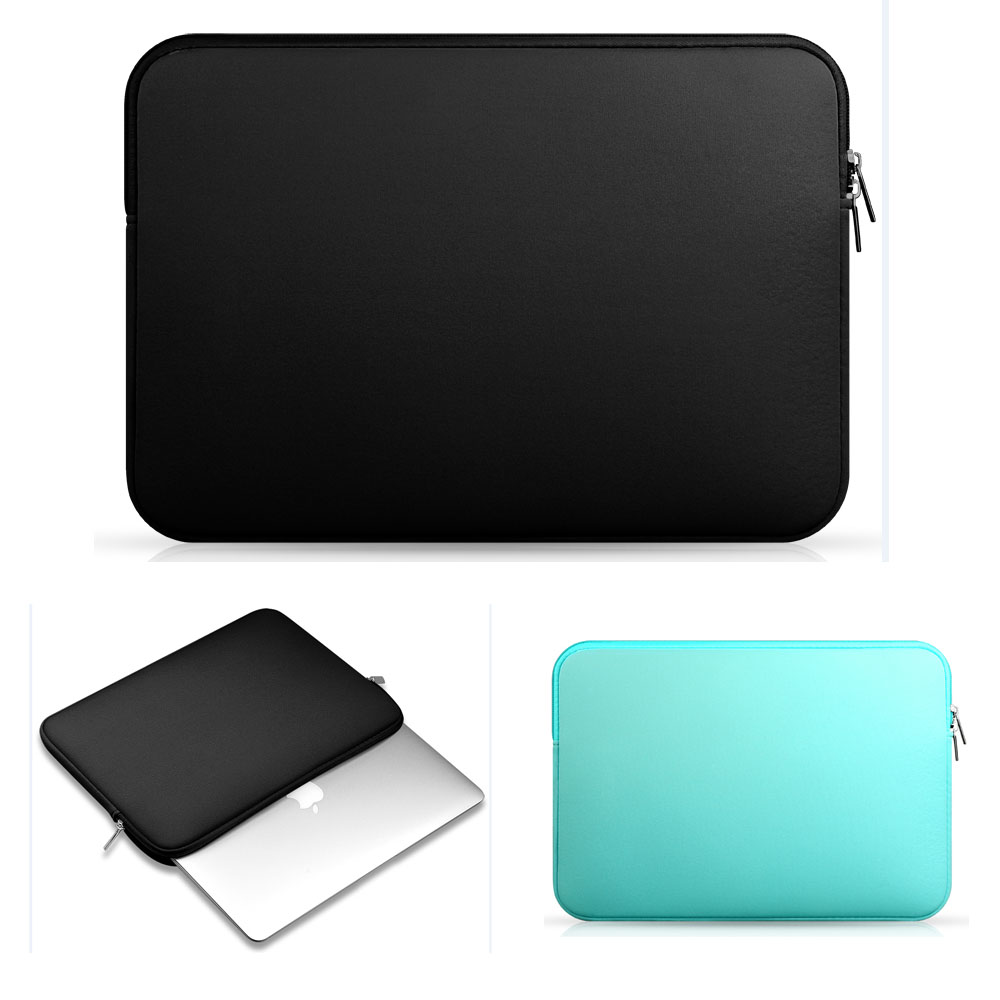 цена на Soft Sleeve Laptop Bag Case For Lenovo Dell HP Asus Apple Macbook Air Pro 11,12,13,15 15.6 inch,Ultrabook Notebook Bag 14