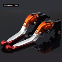 For HONDA CBR 600RR CBR600RR 2003 2004 2005 2006 Motorcycle Adjustable Folding Extendable Brake Clutch Levers logo REPSOL