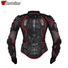 New Men's Motocross New Fashion Black and Red Motorcycle Full Body Armor Jacket M/L/XL/XXL/XXXL Free Shipping s m l xl xxl xxxl jk006 motorcycle full body protect jacket motocross racing protector clothing armour web materials breathable