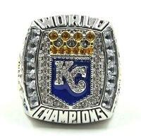 Free Shipping New Arrival 2015 2016 Kansas City Royals World Series Baseball Championship Rings As Fans