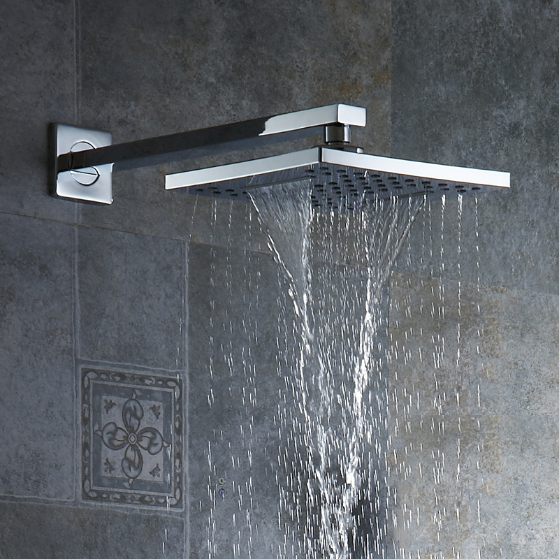 Chrome ABS Shower Head Over-head Shower Sprayer Top Shower Head Wall/Ceiling Mounted Free Shipping Wholesale And Retail