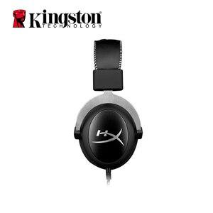 Image 2 - Auriculares Kingston Gaming con micrófono HyperX Cloud Pro, auriculares plateados de 3,5mm, gemelos de teléfono, teléfono móvil