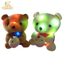Pillow Plush Led-Light-Up Stuffed Bear-Glowing Girl Soft Gift Kawaii Kid Cartoon Dolls