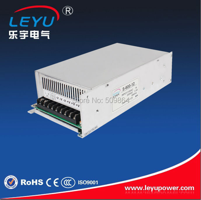 S-600-12  Universal AC input full range  600w 12v 50a SMPS with paraller function цена и фото