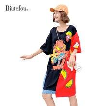 2019 Summer sequins long dresses fashion patchwork women